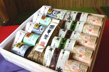 伊賀銘菓撰 木箱¥5250